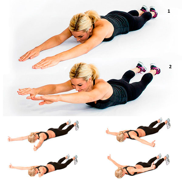 5 эффективных упражнений для похудения в домашних условиях