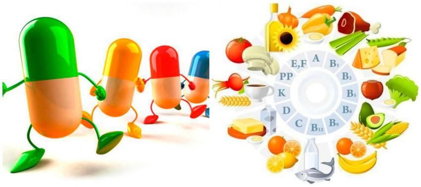 витамины минералы