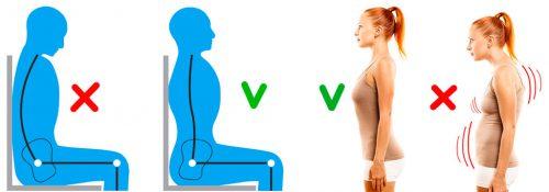 Формирование правильной и здоровой осанки