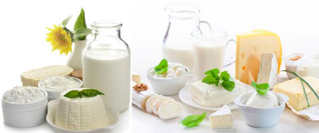 Молочная продукция и яйца