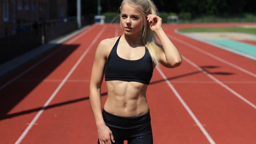 бег для сжигания жира на животе