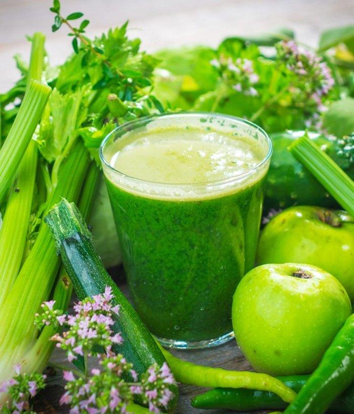 Смузи фруктово-овощной