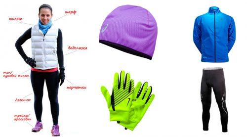 Одежда для зимнего бега