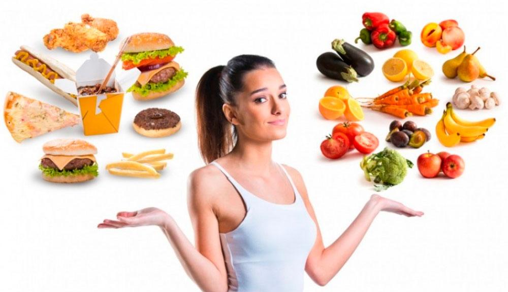 режим здорового питания для похудения