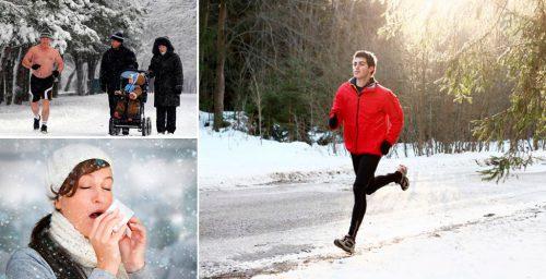 Как правильно бегать зимой, чтобы не заболеть