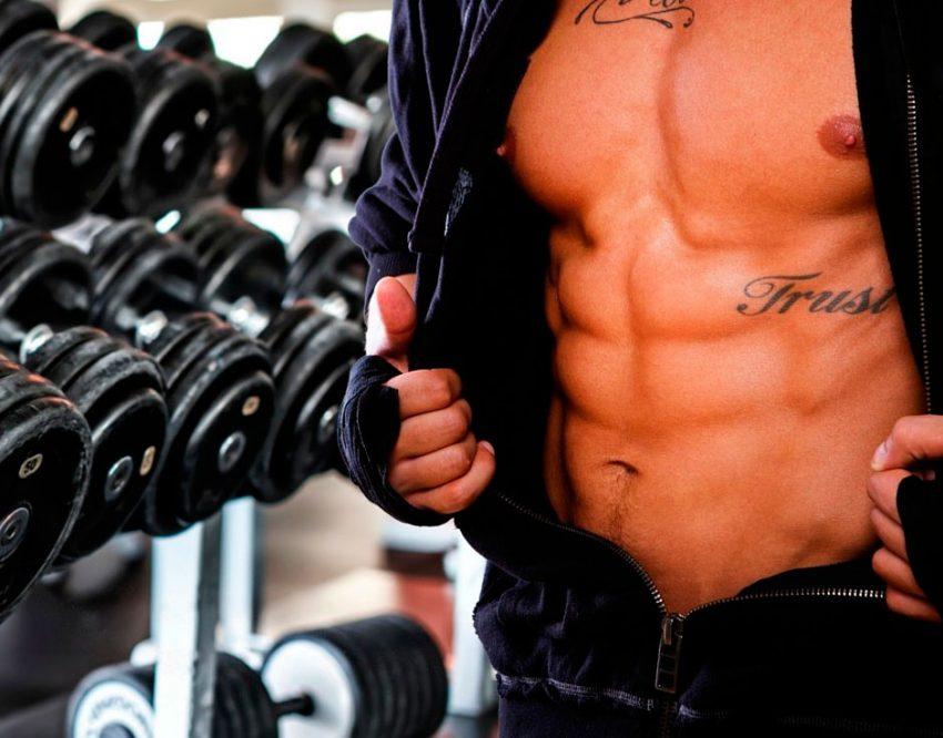 как сушить жир на животе
