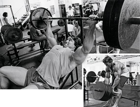Тренировка на груди и спину суперсетами