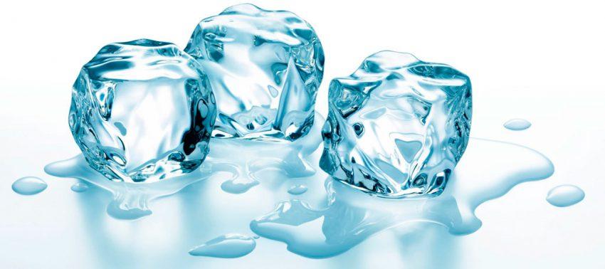 Массаж с использованием льда