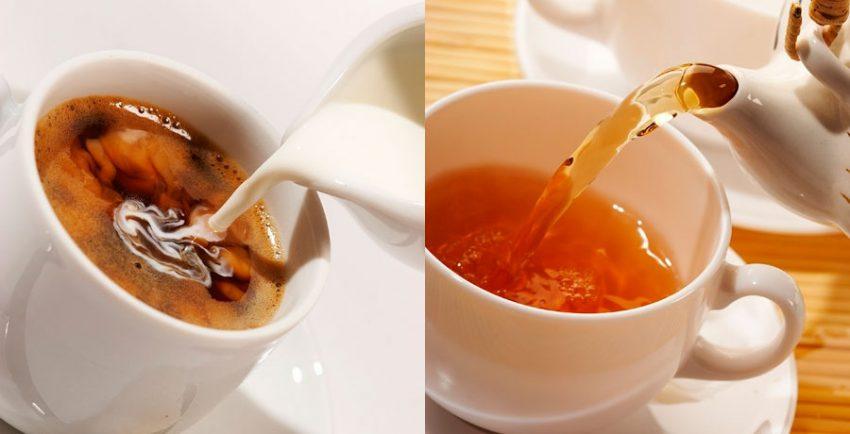 Пить чай и кофе