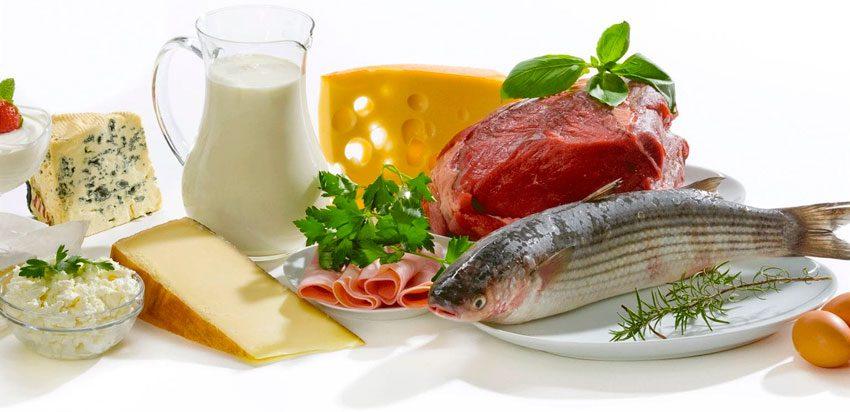 Делать акцент на богатую белками пищу