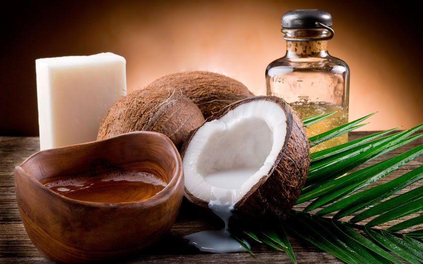 Применять кокосовое масло