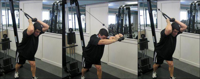 Упражнения на тренажере