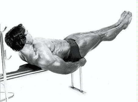 Упражнение для нижнего пресса