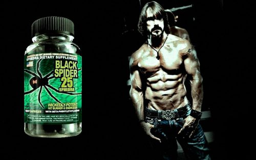 Black Spider 25 Ephedra