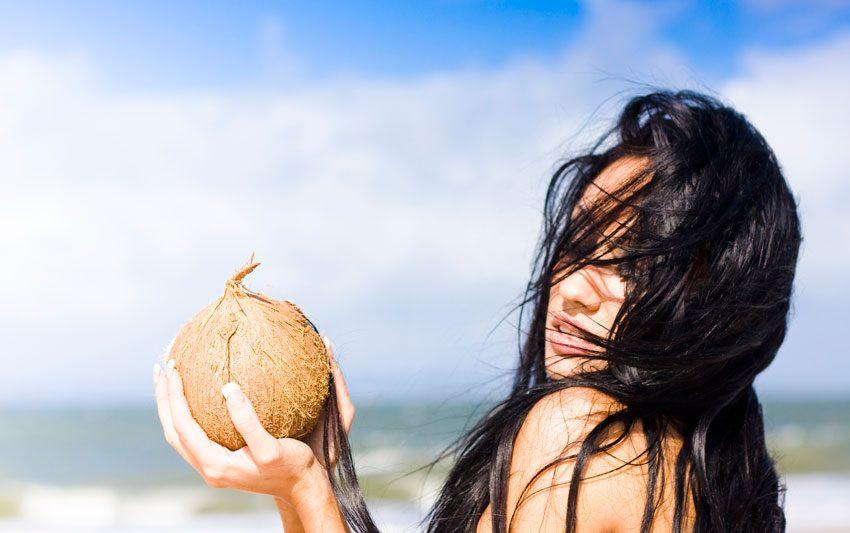 Использование кокосового масла в косметологии