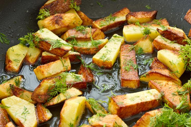 Сколько калорий в картошке жареной