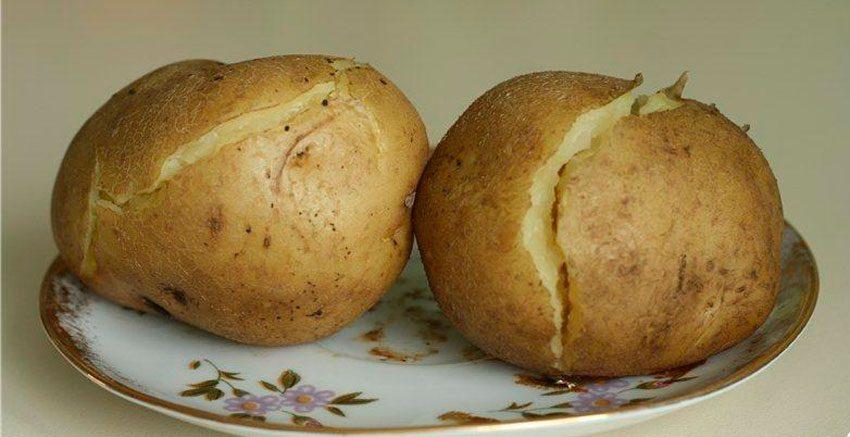 Калорийность картофеля в мундирах