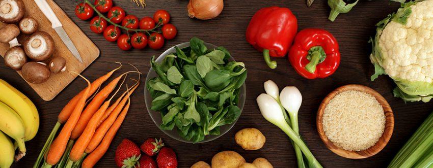 На вегетарианском питании