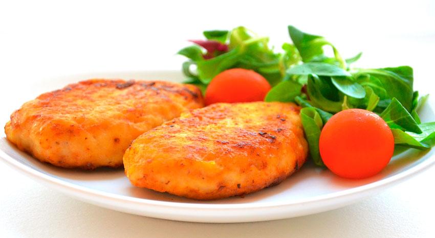 рецепт котлет рыбных с кабачками