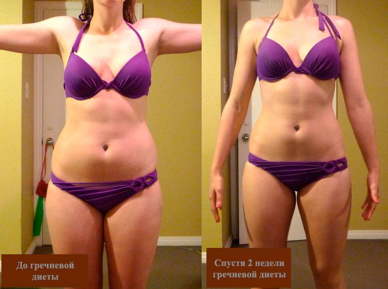 Гречневая диета отзывы похудевших с