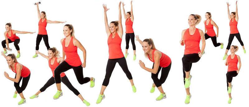 Упражнения для похудения табата