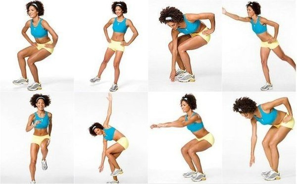 Комплекс из 7-ми упражнений для коленей