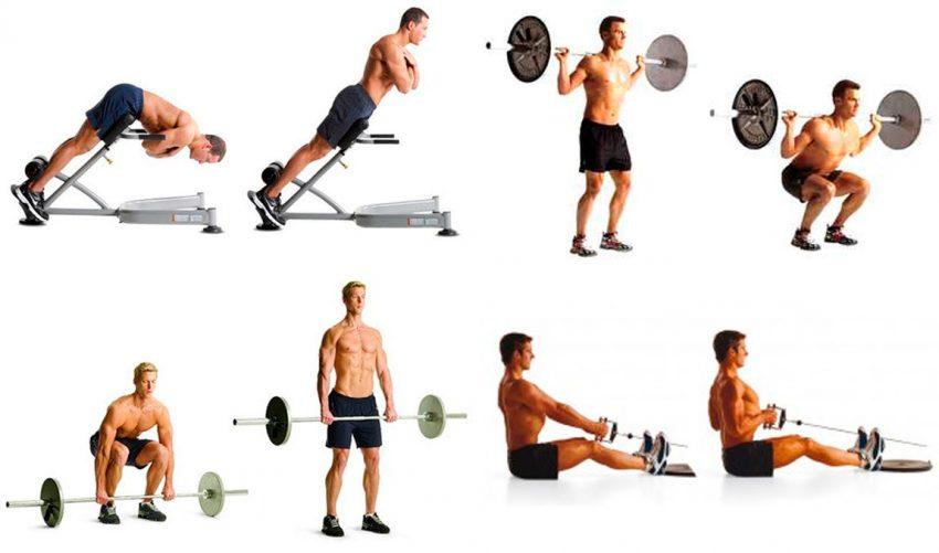 Базовые упражнения для увеличения талии