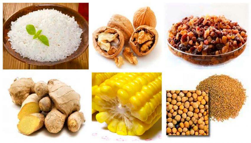 В каких продуктах содержится меланин, таблица продуктов